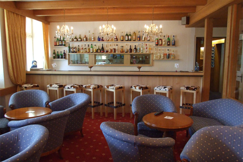Enjoy a drink in the bar after your meal