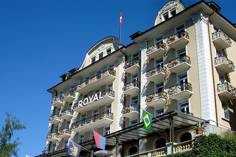 The Royal is a popular Lucerne hotel