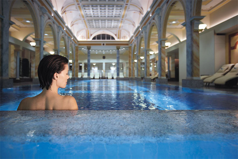 The spa is one of the most renowned in Switzerland