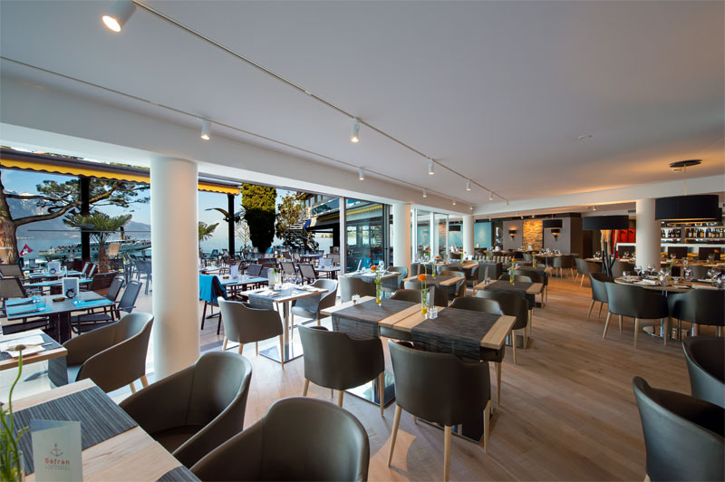 Safran is a popular and stylish restaurant