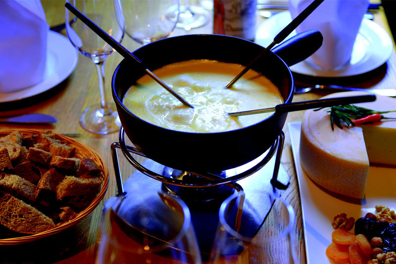 Fondue is a must during your stay